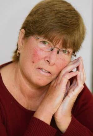 Susan với khuôn mặt hầu như không có nếp nhăn dù đã ngoài 60, đó là do căn bệnh khiến cơ thể sản ra quá nhiều collagen.