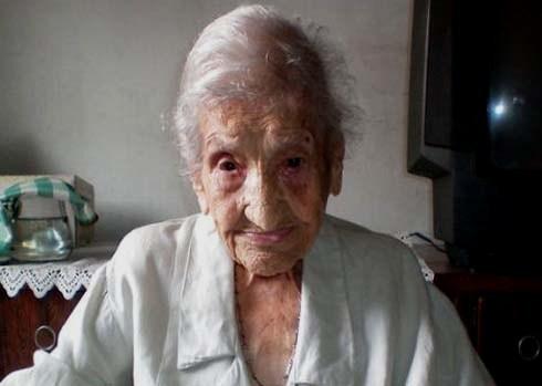 Bà cụ Valentim vừa được ghi nhận kỷ lục sống thọ nhất thế giới. Ảnh:
