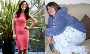 Hành trình giảm cân để thành hoa hậu của cô gái béo 100 kg
