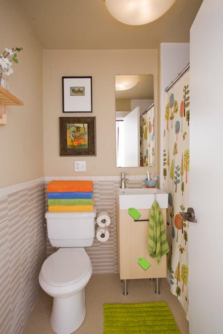 12 mẹo cho nhà vệ sinh hẹp - VnExpress Đời sống