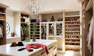 Các tủ giày và phòng thay đồ đáng mơ ước
