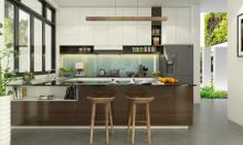 Vẻ sang trọng và tinh tế trong gian bếp có nội thất mở