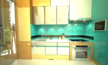 Gian bếp tiện ích trong căn hộ chung cư nhỏ
