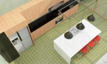 Gian bếp thân thiện môi trường, sạch sẽ, đầy đủ tiện nghi
