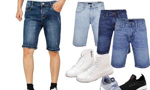 Chọn giày phối cùng quần short nam