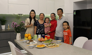 Hành trình hiện thực hóa 'Bếp nhà trong mơ'