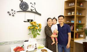 Niềm hạnh phúc gắn kết gia đình của thí sinh 'Bếp nhà trong mơ'