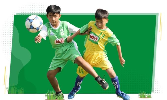 Trẻ trưởng thành hơn từ giải thể thao học đường