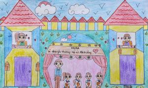 Cuộc thi 'Cả nhà cùng vẽ ước mơ' kéo dài thêm một tháng