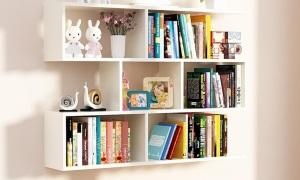 Kệ sách phong cách tối giản