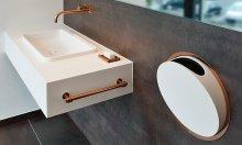 9 ý tưởng phòng tắm tối giản