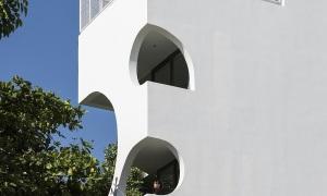 Ngôi nhà có thiết kế 'vầng trăng khuyết'