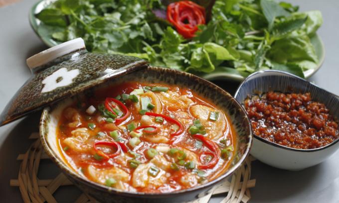 Tóp mỡ chưng cà chua