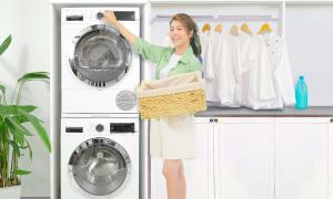 Bộ đôi giặt sấy nâng cấp trải nghiệm giặt giũ cho gia đình