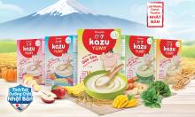Aiwado ra mắt bột ăn dặm Kazu Yumy dưỡng chất từ Nhật