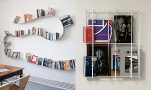 10 cách trang trí kệ treo tường đơn giản