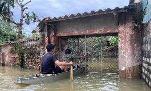Sống ở làng lụt